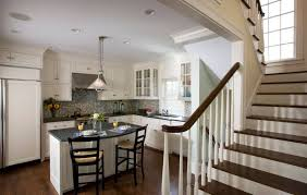 Kitchen Backsplash Ideas With Dark Wood Cabinets by 36 Inspiring Kitchens With White Cabinets And Dark Granite Pictures