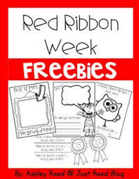 Here Are 5 Fun FREE Red Ribbon Week Activities To Tie Into Halloween ENJOY
