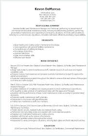 Military Experience On Resume 1