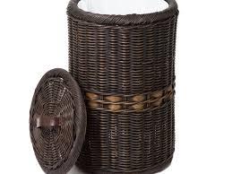 Slim Bathroom Trash Can With Lid by Bathroom Trash Can For Bathroom 21 Wire Mesh Wastebasket