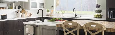 Moen Caldwell Kitchen Faucet Stainless by Shop Moen Caldwell Spot Resist Stainless 2 Handle Deck Mount High