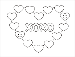 Printable Valentine Cards For Kids Free Coloring