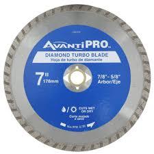 Mk270 Tile Saw Manual by Avanti Pro 7 In Turbo Diamond Blade Hd T70s8 The Home Depot
