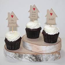Housewarming Cupcake Toppers