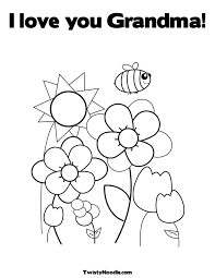 Printable 20 Happy Birthday Grandma Coloring Pages 6280