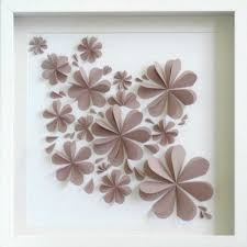 Wall Decor Floral Flower Paper And