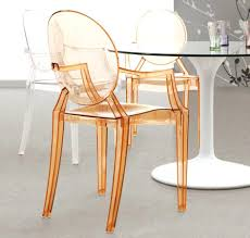 Clear Acrylic Office Chair Uk by Dining Chairs Clear Acrylic Chairs Dining Side Chair Intended