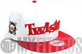 Twister Optic White Scarlet Hasbro Board Game New Era Snapback