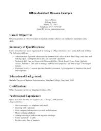 Medical Assistant Resume Template With No Experience Info Sample Certified