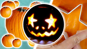 Halloween Pumpkin Carving With Drill by Pumpkin Carving Using A Drill And Cookie Cutters Youtube