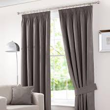 Bendable Curtain Track Dunelm by Waters U0026 Noble Stone Solar Blackout Pencil Pleat Curtains Dunelm