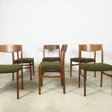 Set Of 6 Glyncore Scandinavian Green Dining Chairs - 1960s - Design ... Danish Midcentury Modern Rosewood And Leather Ding Chairs Set Of Scdinavian Ding Chairs Made Wood Rope 1960s 65856 Mid Century Teak Seagrass Style Layer Design Aptdeco 6 X Style Room Chair 98610 Living Room Fniture Replica Wooden And Rattan 2 68007 Pad Lifestyle Herringbone Sven Ding Chair Sophisticated Eight Brge Mogsen In Vintage Market Weber Chair Weberfniturecomau Vintage Danish Modern