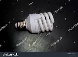 new energy saving light bulb on stock photo 518636503