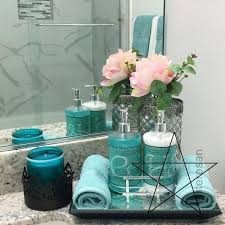 türkis badezimmer dekor ideen carolyn cochrane