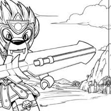 LEGO Legends Of Chima Coloring Pages Free Printable