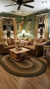 Living Room Design Green Rustic Living Room Country Furniture