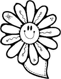 Flower Coloring Printables For Kids