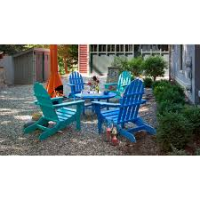 Outer Banks Polywood Folding Adirondack Chair by Belham Living Belmore Recycled Plastic Classic Adirondack Chair