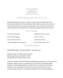 Curriculum Vitae Template Teaching Assistant Substitute Teacher Resume Sample Samples For Teachers In Word