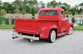 1956 Ford F-100 - In The Red - Hot Rod Network Collection Of Parts 1956 F100 Ford Truck Enthusiasts Forums 53 1953 F100 Pickup Speed Shop Now Offers Parts For Your Ford F1 50l V8 Dohc Engine Truckin Magazine Trucks Images Custom Wiper Wiring Diagram Parts Windshield For Sale Classiccarscom Cc1041342 Classic And Come To Portland Oregon Hot Rod Network Bodie Stroud Restomod Is Lovers Dream