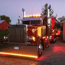 Peterbilt Chicken Lights | Custom Semi Truck | Pinterest | Peterbilt ... Semi Truck Lights Stock Photos Images Alamy Luxury All Lit Up I Dig If It Was Even A Hauler Flashing Truck Lights At Accident Video Footage Tesla Electrek Scania Coe With Large Sleeper Lots Of Chicken Trucks 4 A Lot Bright Youtube Evening Stop Number Trucks In Parking Orbitz Led Latest News Breaking Headlines And Top Stories Blue And Trailer On Road With Traffic Image