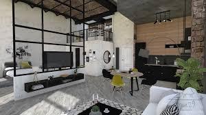 wohn esszimmer dekoration projekt loft by ona29