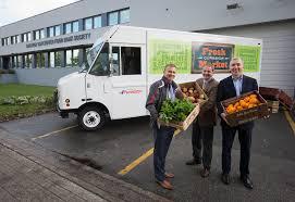 100 Vancouver Food Trucks Purolator Purolators Truck Donation Will Help Greater