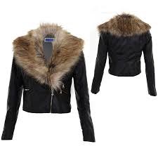 ladies detachable faux fur collar women u0026 039 s crop synthetic