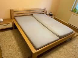 segmüller design schlafzimmer komplett buche teilmassiv abgebaut