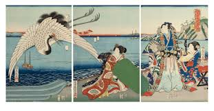 Genjis World In Japanese Woodblock Prints At The Frances Lehman