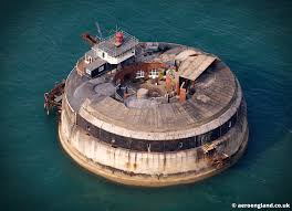 100 Spitbank Fort Aeroengland Aerial Photograph Of In The Solent