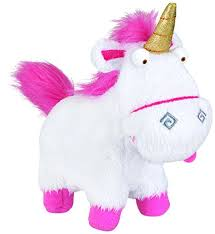 Despicable Me Plush Buddy Fluffy Unicorn Toy Figure