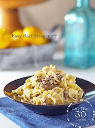 Easy Beef Stroganoff Family Dinner Ideas