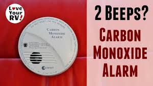 Propane Floor Buffer Carbon Monoxide why our rv carbon monoxide detector was suddenly beeping twice