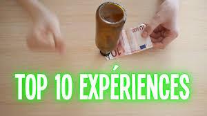top 10 expériences à faire à la maison partie 1
