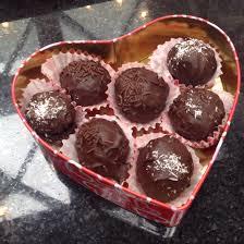 Vegan gluten free chocolate cake balls