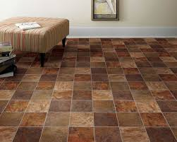 Image Of Kitchen Floor Lino Dark
