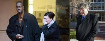 Jeffrey Sterling A Former CIA Analyst Seen Here Leaving Court With His Wife Has Been Convicted Of Leaking Secrets To Newspaper Reporter