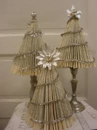 Christmas Tree Books Pinterest by Christmas Trees Made Out Of Recycled Materials Google Search