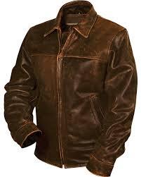 sts ranchwear men u0027s rifleman brown leather jacket sheplers