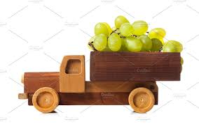 100 Wooden Truck Truck Carries White Grapes Photos Creative Market