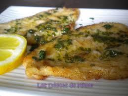 comment cuisiner le poisson filets de plie à la meunière les délices de mimm