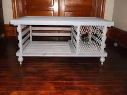 handmade wooden lobster trap coffee table by mainelobstertrap