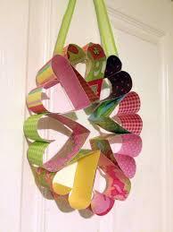 DIY Paper Heart Wreath