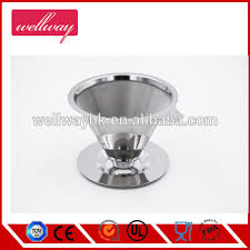 Paperless Pour Over Coffee Maker 188 304 Stainless Steel Reusable Drip