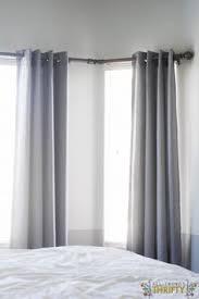 bay window curtain rod bay window curtain rod bay window