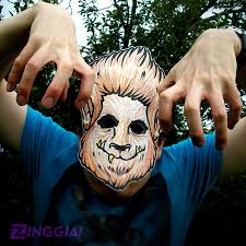 Wanna Make Your Own Halloween Mask Check Out This Wolfman