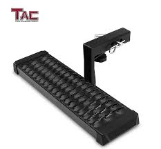 100 Hitch Truck TAC TRUCK ACCESSORIES COMPANY TAC Aluminum Step Universal Fit 2 Rear Receivers With 6 Drop