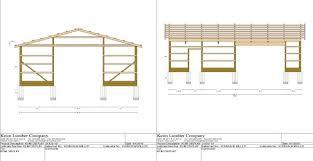 Pole Barn Design & Material Estimates