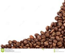Coffee Beans Border Stock Photos